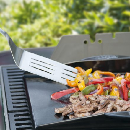 Weber Style universelle gusseiserne Grillplatte, Plancha 2