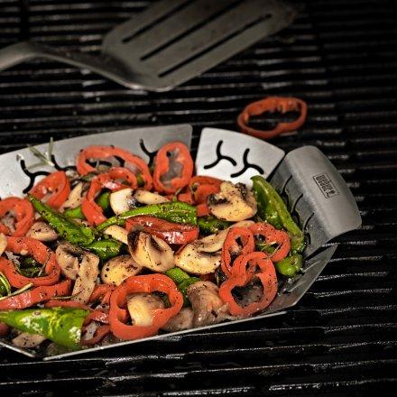 Weber Gemüsekorb, klein, Edelstahl 2