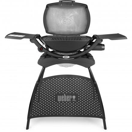 Weber Elektrogrill Q 2400 Stand, Dark Grey 2