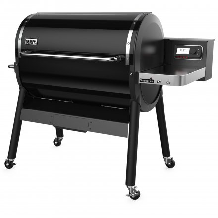 Weber SmokeFire EX6 Holzpelletgrill GBS, Black 2