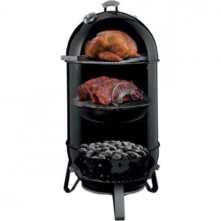 Weber Smokey Mountain Cooker 47 cm + inklusive Abdeckhaube 2