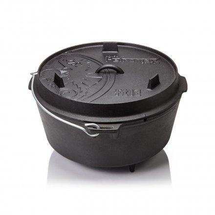 Petromax Feuertopf ft12 Dutch Oven, mit Füßen 2