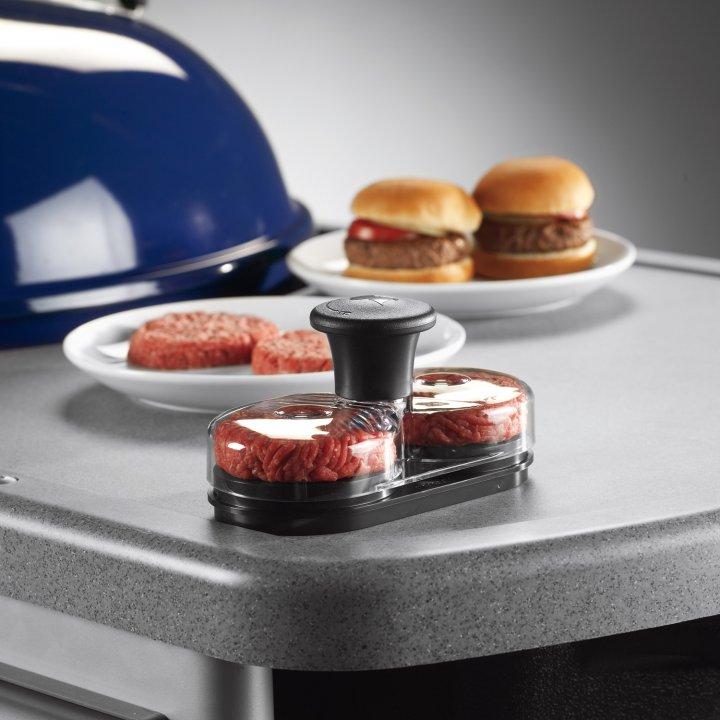 Weber Mini-Hamburgerpresse 2