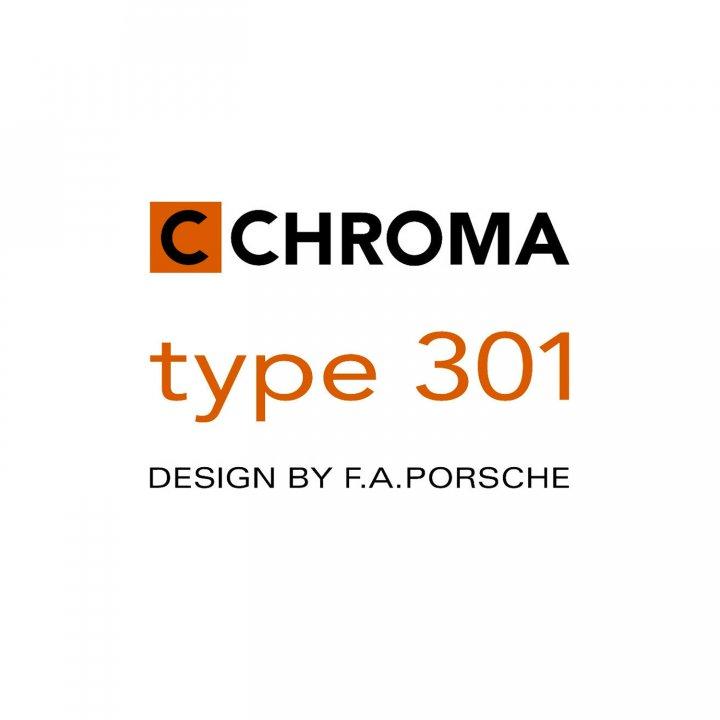 P-02 Chroma Type 301 Santoku, 17,8 cm 2