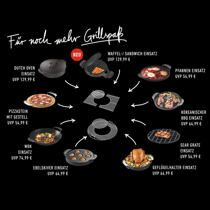 Weber Gourmet BBQ System - Grillrost Genesis Serie, gusseisen 2