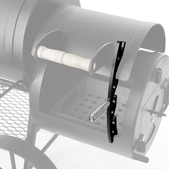 Joe's BBQ Smoker Deckelhalter für Longhorn/Chuckwagon 2