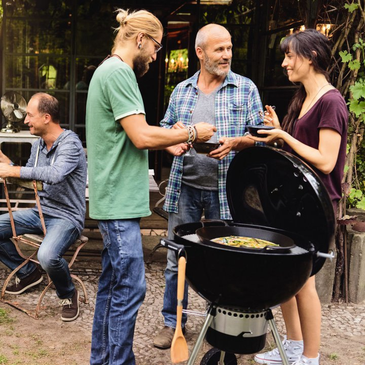 Weber Pfanneneinsatz - Gourmet BBQ Systen 2