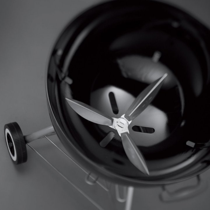 Weber Flügelset One Touch 47 cm Edelstahl 2