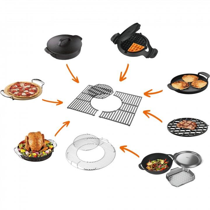 Weber Grillrost 57 cm - Gourmet BBQ System, Edelstahl 2