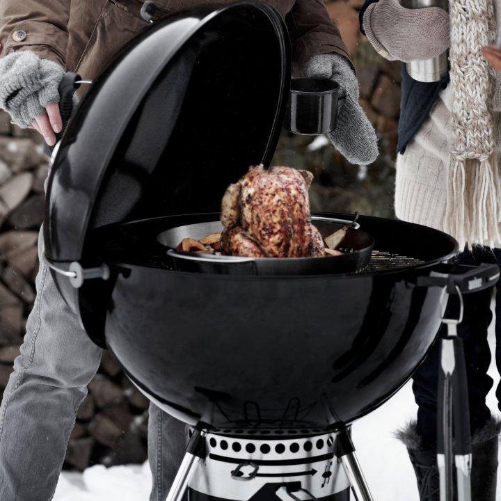 Weber Gourmet BBQ System - Geflügelhalter Einsatz 2