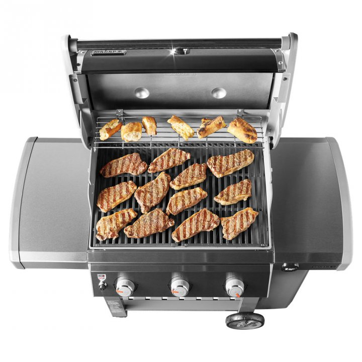 Weber Genesis II LX E-340 GBS, Black + Weststyle Edition 2
