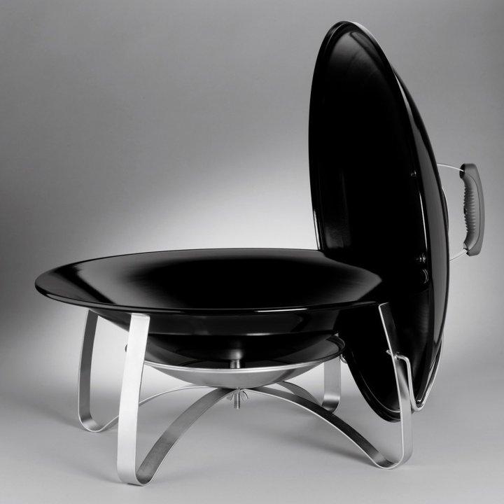 Weber Fireplace, Black 2