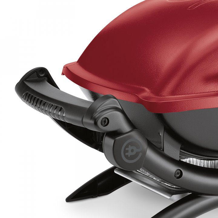 Weber Elektrogrill Q 1400, Maroon 2