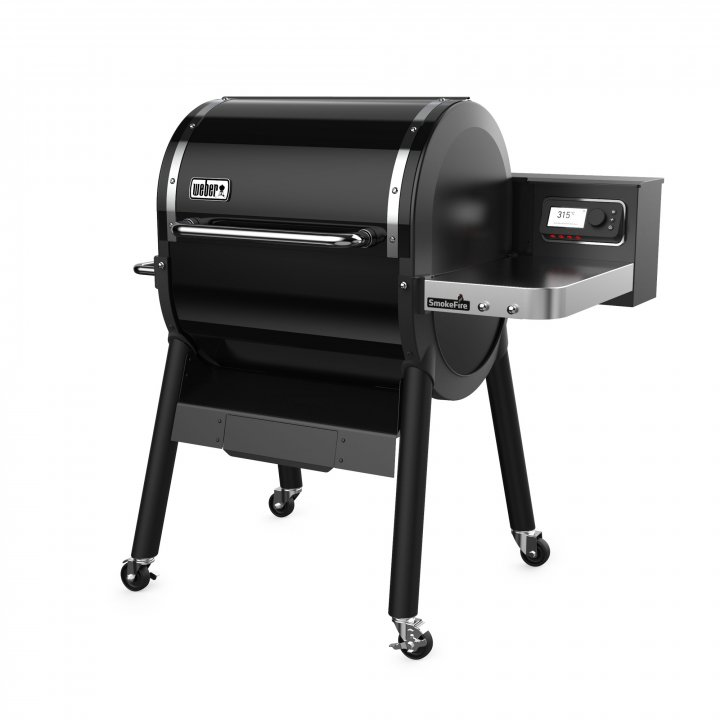 Weber SmokeFire EX4 Holzpelletgrill GBS, Black 2