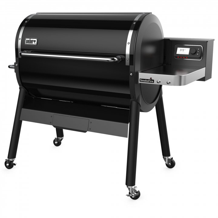 Weber Smoke Fire EX6 Holzpelletgrill GBS, Black 2