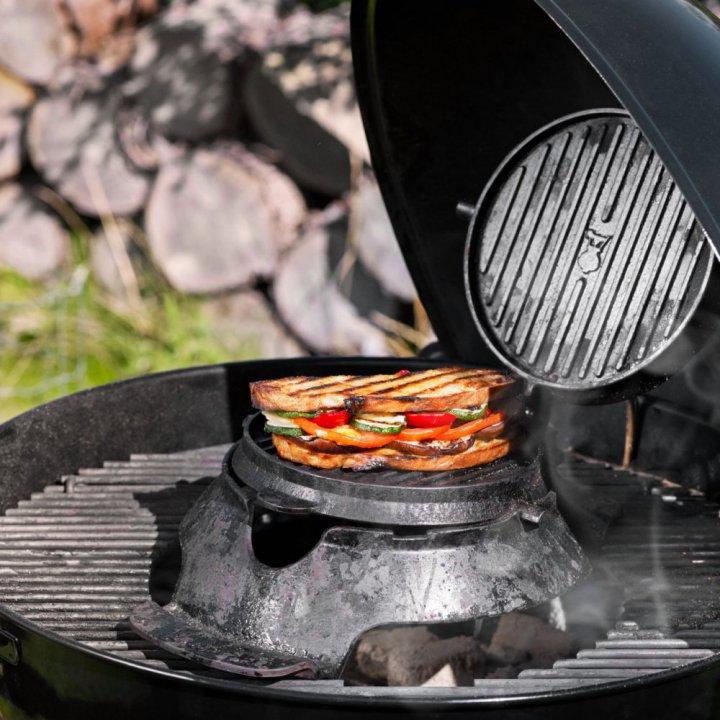 Weber Gourmet BBQ System - Waffel & Sandwich Einsatz 2