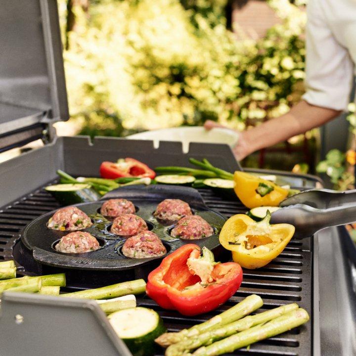 Weber Gourmet BBQ System - Ebelskiver Einsatz 2