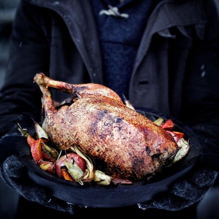 Weihnachtsgans vom Weber Grill (15.12.18) um 11 Uhr 2