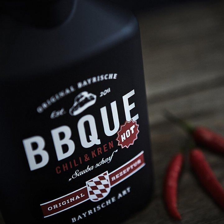 BBQUE Bayrische Barbecue Sauce Chili & Kren 2