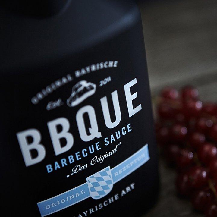 BBQUE Bayrische Barbecue Sauce Das Original 2