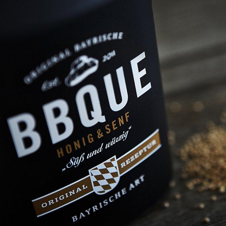 BBQUE Bayrische Barbecue Sauce Honig & Senf 2