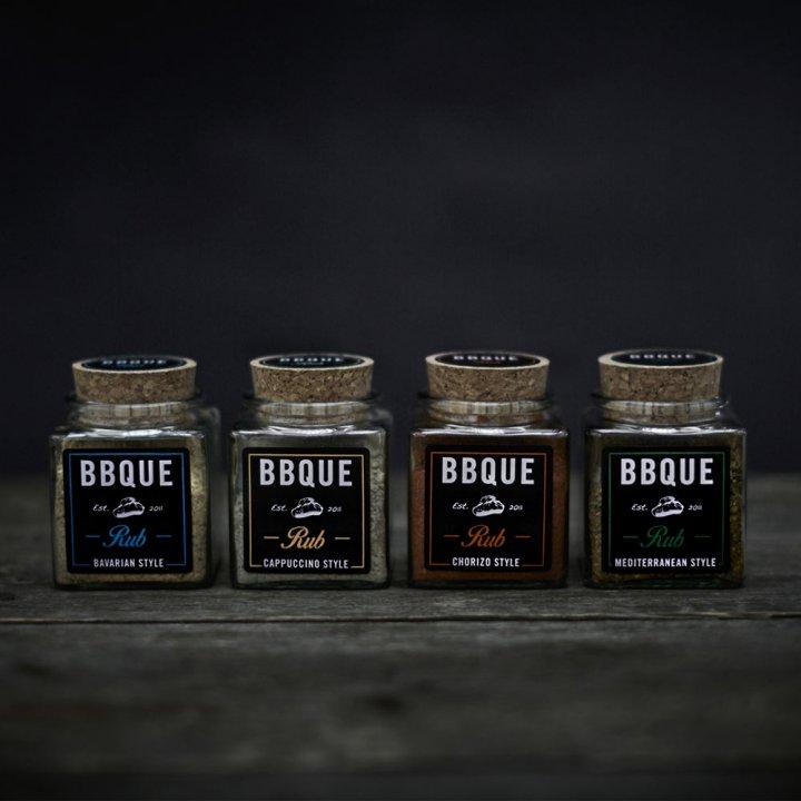 BBQUE Rubs 4er Set 2