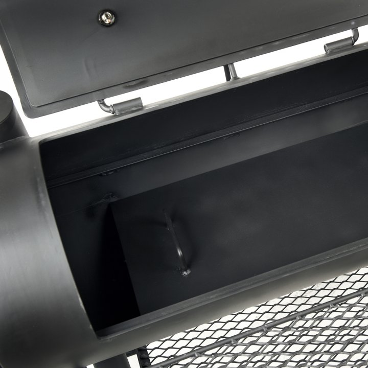 Joe's BBQ Smoker 16'' Reverse Flow, lange Version 2