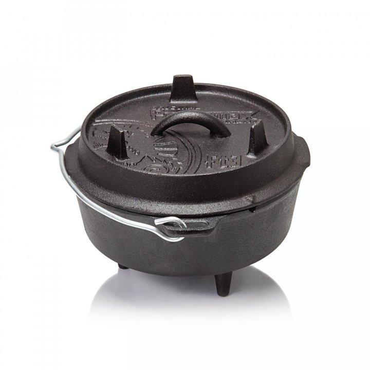 Petromax Feuertopf ft3 Dutch Oven, mit Füßen 2