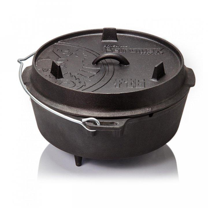 Petromax Feuertopf ft6 Dutch Oven, mit Füßen 2