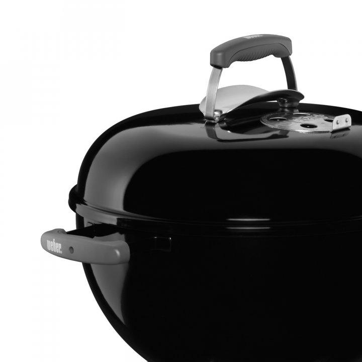 Weber Deckel BBK 47cm schwarz 2015 (ohne Loch für Thermometer) 2