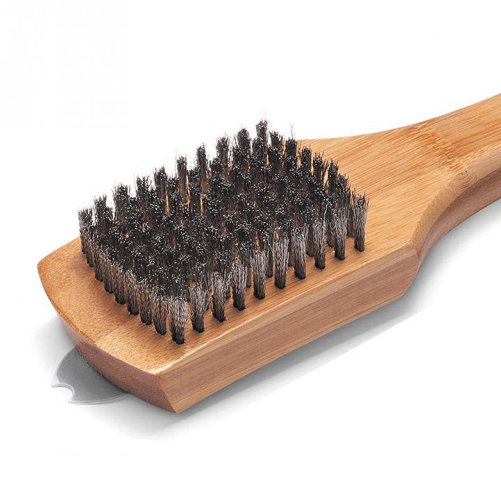 Weber Grillbürste mit Holzgriff 46 cm 2