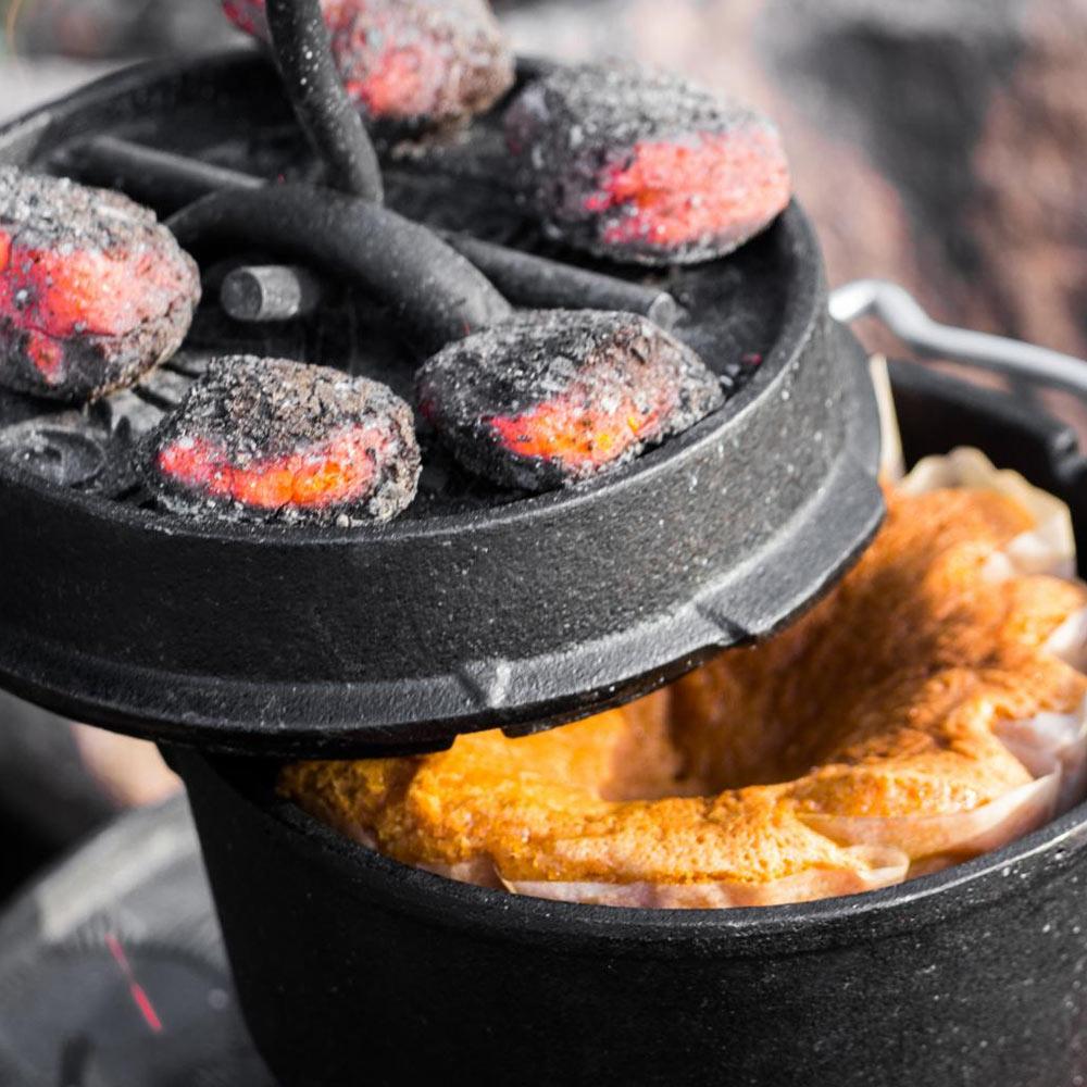 Petromax Feuertopf ft9 mit Füßen Dutch Oven