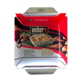 Weber Style Gemüsekorb, groß, Edelstahl