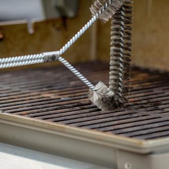 Weber Dreiseitige Grillbürste, 30 cm - 2021