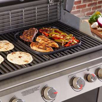 Weber Sear Grate & Grillplatte 2in1 - Gourmet BBQ System