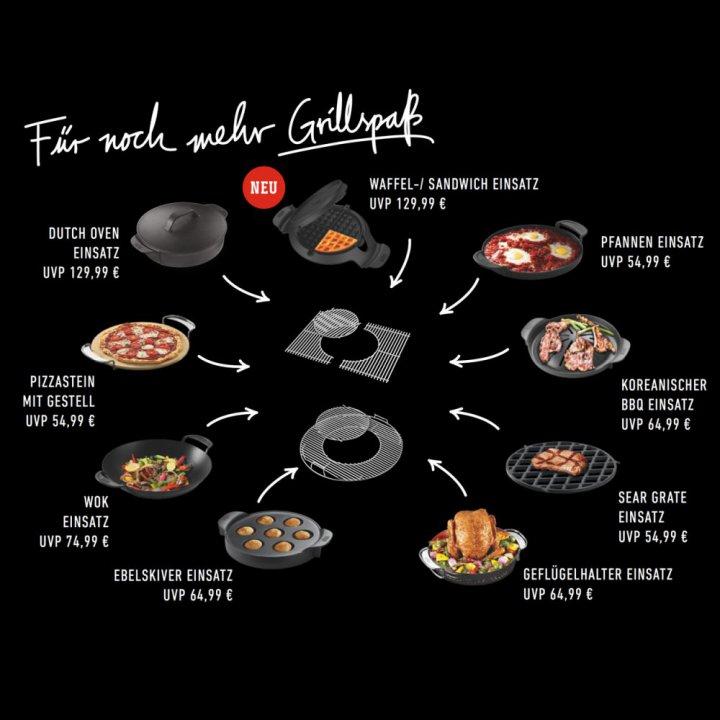 Weber Gourmet BBQ System - Waffel & Sandwich Einsatz 3