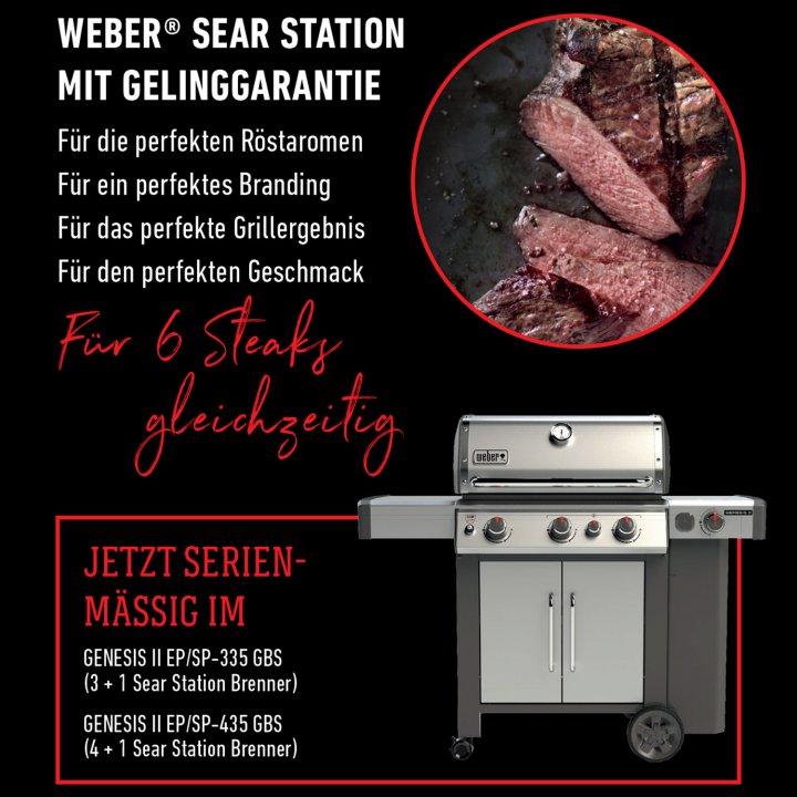 Weber Genesis II SP-335 GBS, Edelstahl 2019 + Weststyle Edition 3