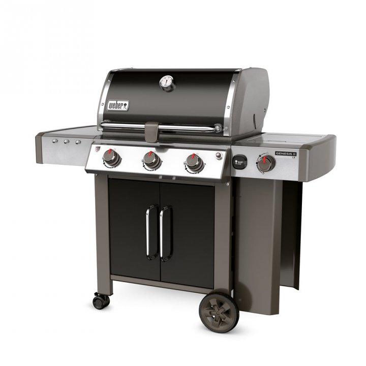 Weber Genesis II LX E-340 GBS, Black + Weststyle Edition 3