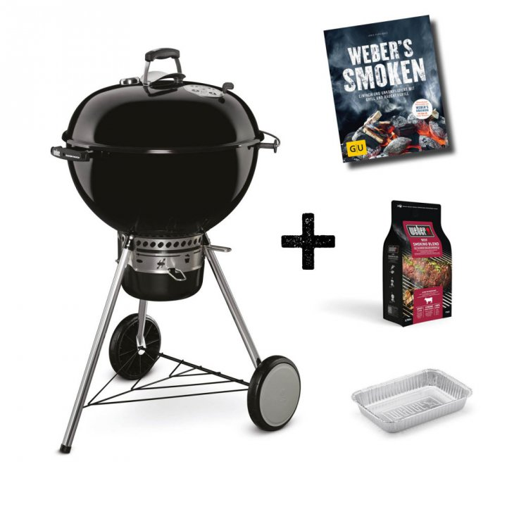 Weber Master-Touch GBS Pro, 57 cm, Black 3