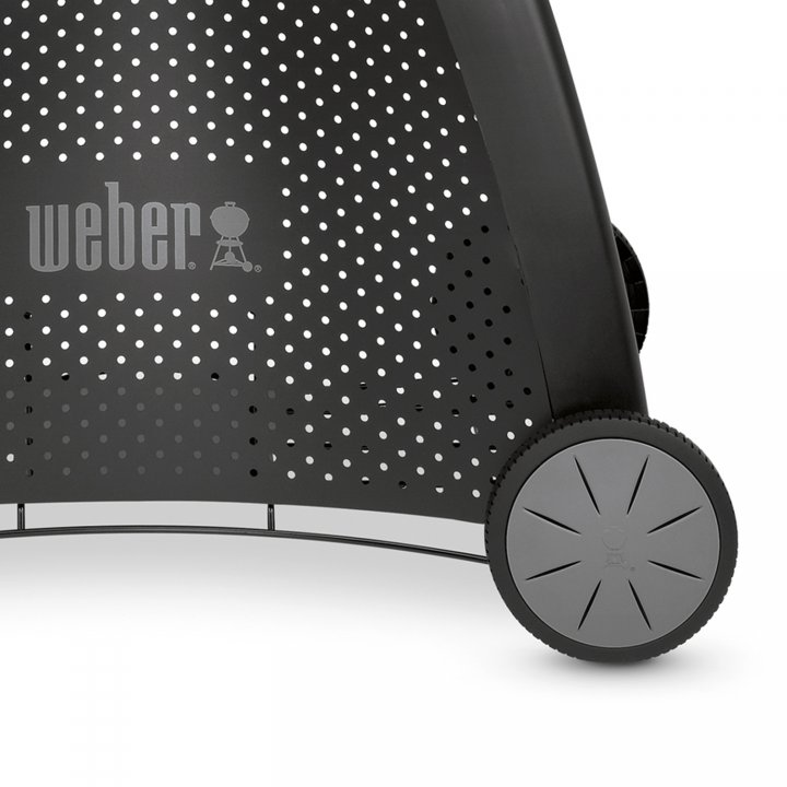 Weber Q 2200 Station, Blackline + gratis Burger-Set 3