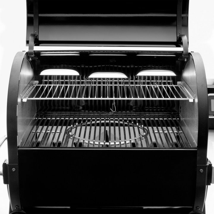 Weber Smoke Fire EX6 Holzpelletgrill GBS, Black 3