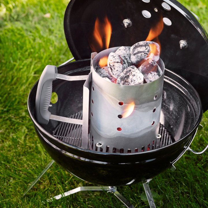 Weber Smokey Joe Premium, 37 cm, Slate Blue 3