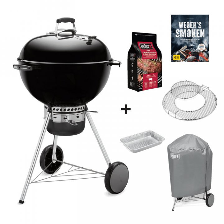 Weber Master-Touch GBS Special Edition Pro, 57 cm + Standard Abdeckhaube 3