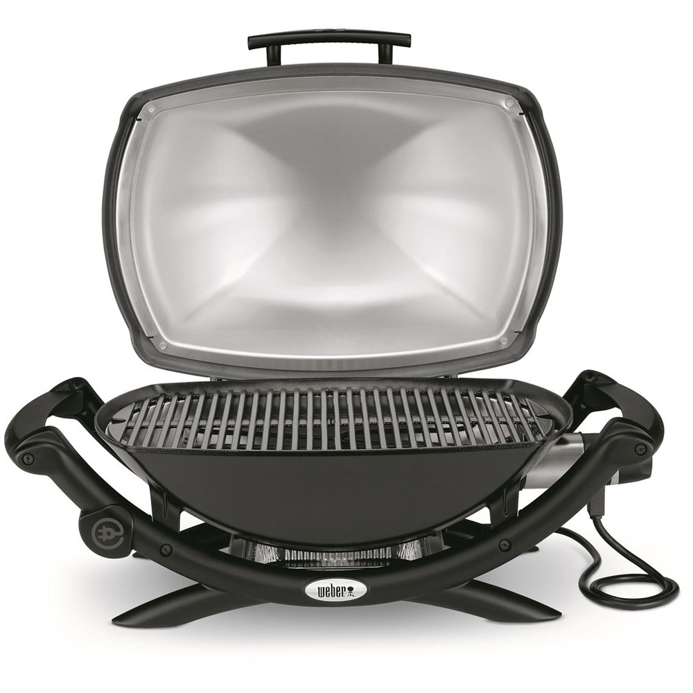 weber elektrogrill q 2400 dark grey g nstig kaufen. Black Bedroom Furniture Sets. Home Design Ideas
