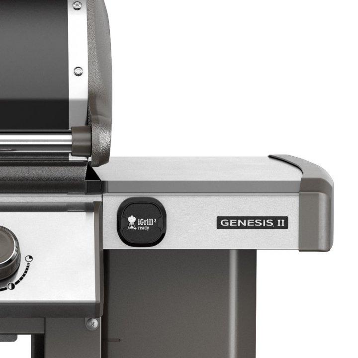 Weber Gasgrill Genesis II E-310 GBS, Black + gratis Abdeckhaube 3