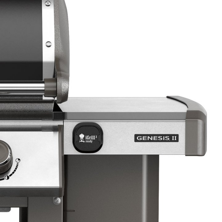Weber Gasgrill Genesis II E-410 GBS, Black + gratis Abdeckhaube 4