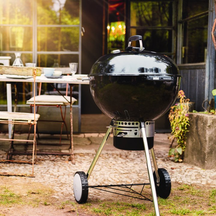 Weber Master-Touch GBS, 57 cm, Black 4
