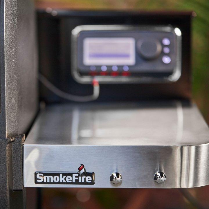 Weber SmokeFire EX4 Holzpelletgrill GBS, Black 4