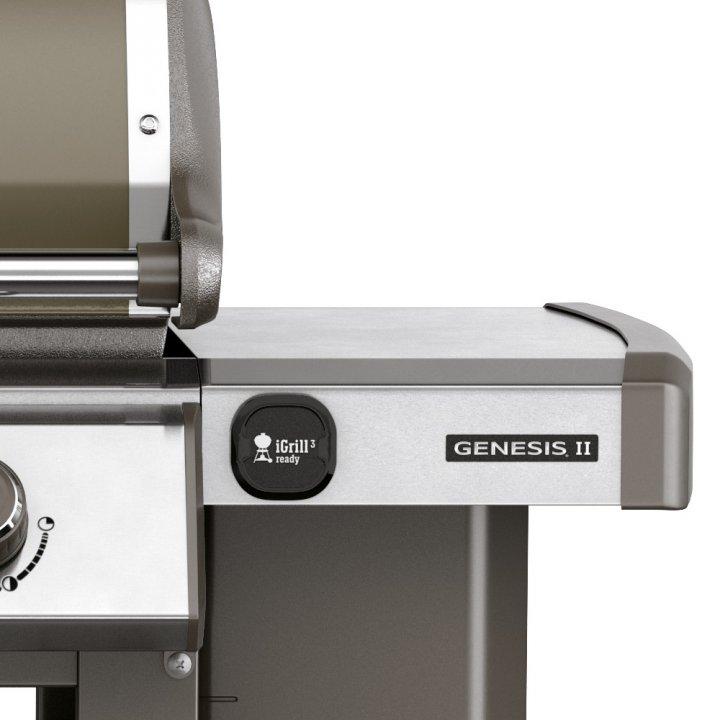 Weber Genesis II E-410 GBS, Smoke Grey (2017/2018) 3
