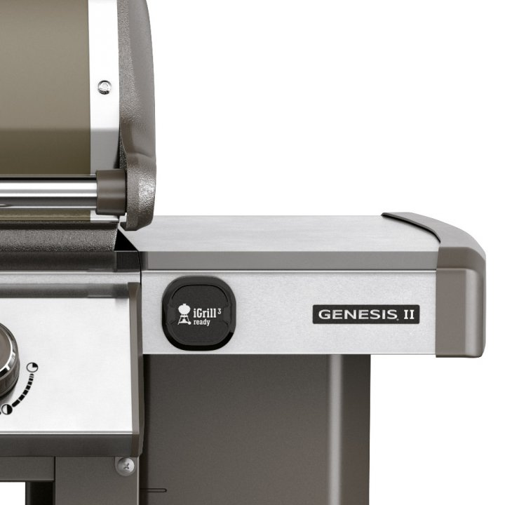 Weber Genesis II E-310 GBS, Smoke Grey 2019 + gratis Abdeckhaube 4